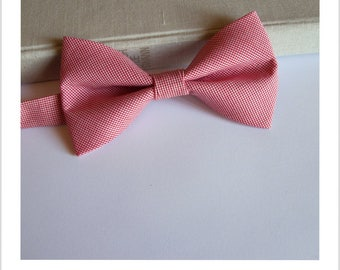 Bow tie small red and white chicken foot