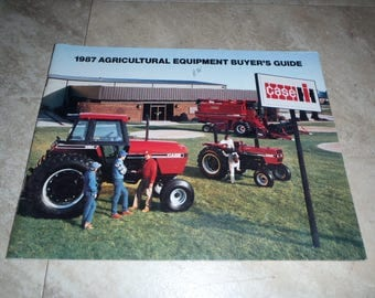Case IH 1987 Agricultural Equipment Buyers Guide