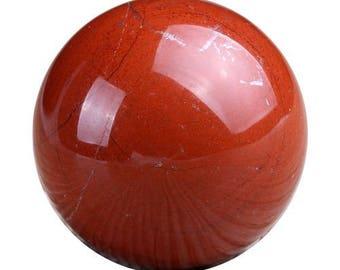 Sphere 30mm red Jasper