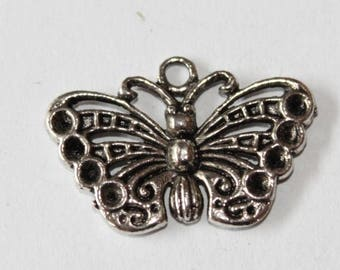 18 * 26 mm, set of 5 Butterfly charm