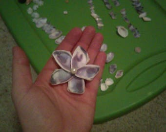 Purple Seashell Flower