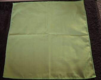 lime green fabric size 50 x 50cm