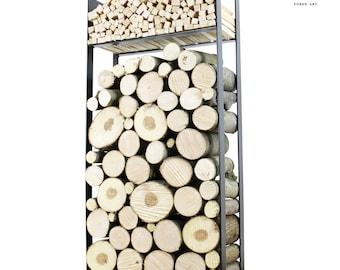 The Cornwall Log Holder Firewood Rack Log Basket Firewood Holder Firewood Storage