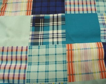 Home - MULTICOLORED patchwork cotton fabric