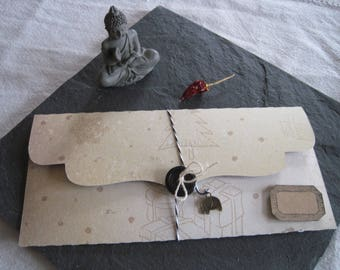 Gift box, ticket, Christmas, Christmas tree, gifts, kraft tag
