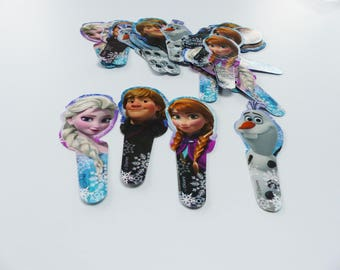 24 frozen elsa anna olaf Kristoff cupcake toppers
