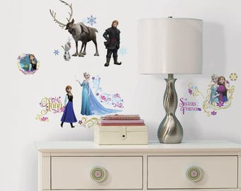 Wall decals or for the Frozen Queen of snow 4 furniture boards