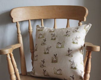 Rabbit Square Cushion