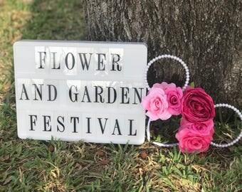 Flower & Garden Festival Ears.