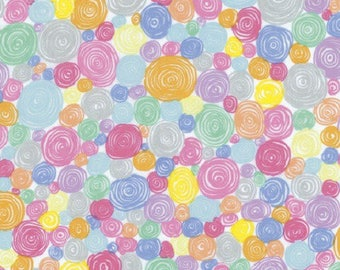 spiral patchwork fabric multicolored pwgp158