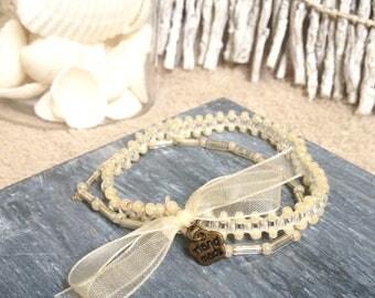 Lace bracelet beads