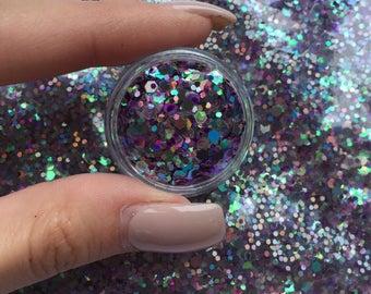 Gypsy Goddess UV holographic glitter 3g pot