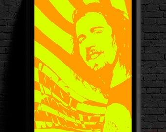 Krist Novoselic Digital Print (Nirvana Digital Print Set Part 3 of 3) *FREE SHIPPING*