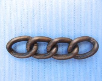 chain 1 copper 5 cm long 4 links 10 mm