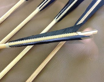 Medieval Wood Arrows for English Longbow 6 Ash