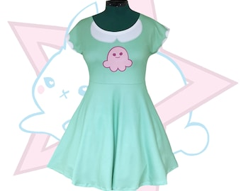Star Butterfly | Squid Dress |  Star vs. the Forces of Evil | Short Sleeve Skater dress | SVTFOE