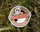"""Ghostbusters """"Haunted Friday 13th"""" Vinyl Sticker"""