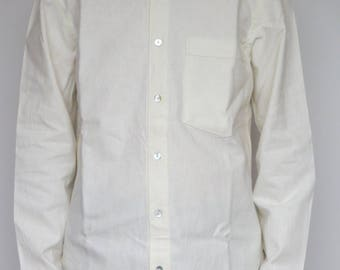 simple Mandarin collar shirt