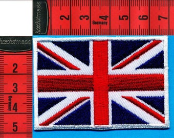 English embroidered patch iron or sew 7 x 5cm. Navy Patch applique, boats, sailing