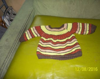 pullover colorful 3 months