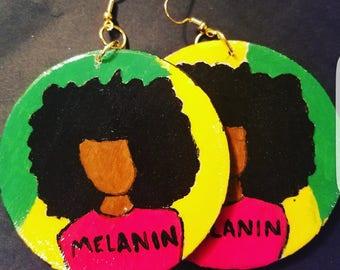Melanin woman