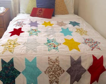 Bright Sparklets Quilt--Perfect for play time!