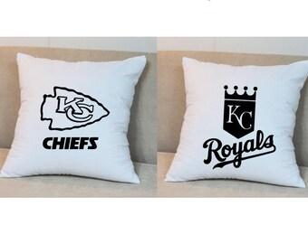 Kansas City Pride Throw Pillow