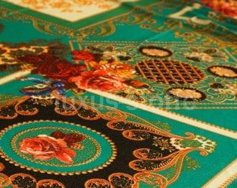 Printed mesh fabric Shabby Chic dress fabric Meshstoff