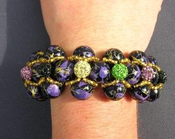 large evening bracelet