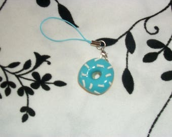 phone charm / strap Donuts in fimo