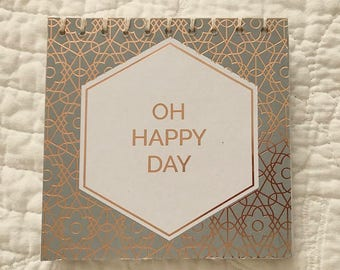 Happy Day Coptic Stitch Sketchbook