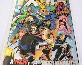 "X-Men Alpha #1 ""Beginnings"" marvel comics special gold edition"