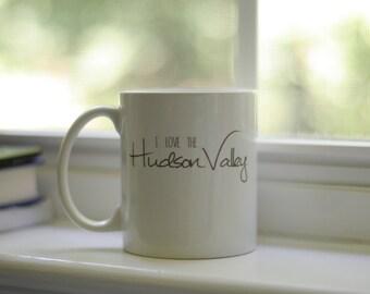 FREE SHIPPING! I Love the Hudson Valley coffee mug