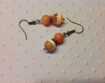 Tangerine earrings