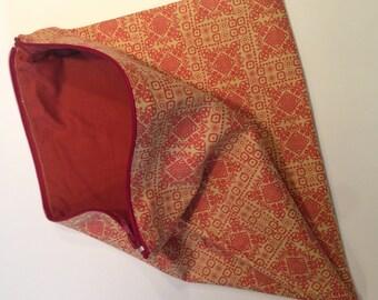 Ethnic - handmade make-up bag