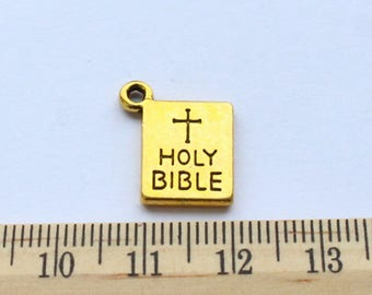 5 Holy Bible Charms - EF00107