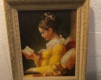Girl Reading by Jean Honore Fragonard
