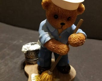 "Teddies in the Navy ""Ship Shape"" #4346A"