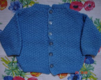 Blue Cardigan for baby boy
