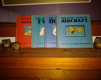 1933 Story Book Collection (4 books)