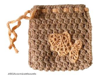 Mini fish crochet bag: fashion accessory