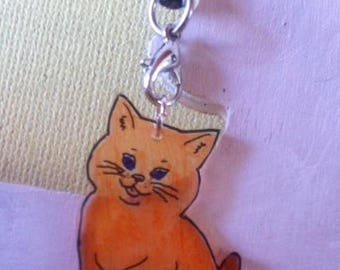 Cat phone or bag charm
