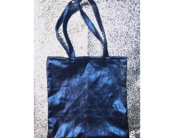 Faux Leater Tote Bag