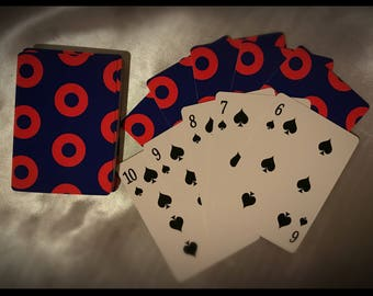 Fishman Donuts Playing Cards