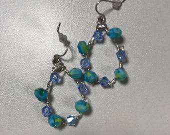 Sterling silver and Swarovski Summers
