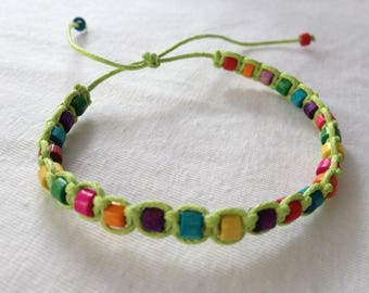 Macrame Friendship Bracelet Bead