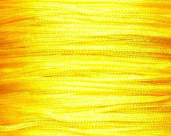 1 M Fil 0.8 mm (the meter) ACFI14 yellow fluorescent neon yellow nylon