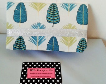 Printed check book leaves and Silver Ribbon