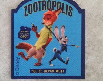 fusible printed fabric zootropolis