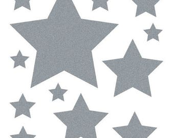 Textile decal - Star Spangled - 16 fusible transfer